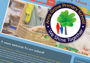 Anns Grove Primary Website Refresh