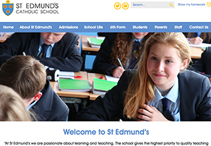 St Edmund's Catholic School Website