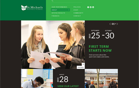St Michaels Secondary Academy Screenshot